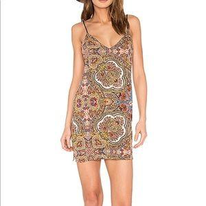 Cleobella paisley slip dress